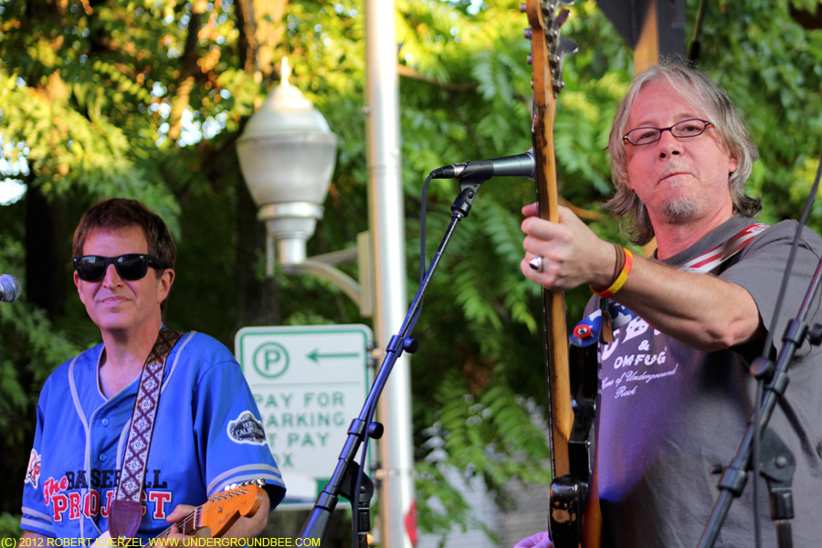 Steve Wynn and Mike Mills of the Baseball Project