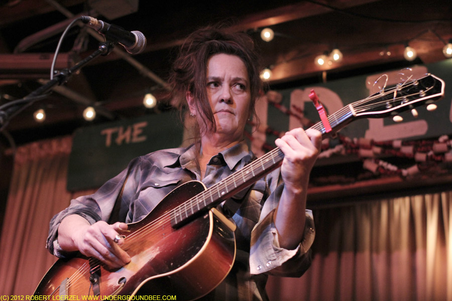 Catherine Irwin at the Hideout
