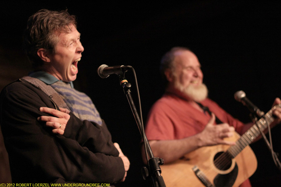 Robbie Fulks and Vernon Tonges