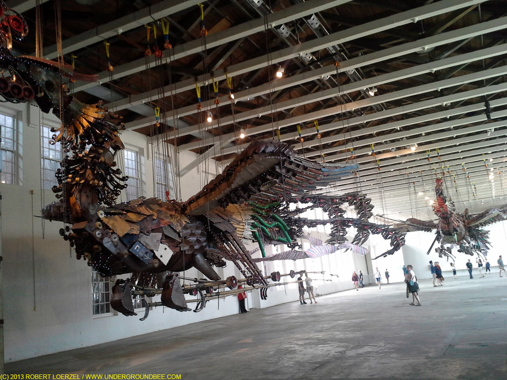 Xu Bing's Phoenix at MASS MoCA