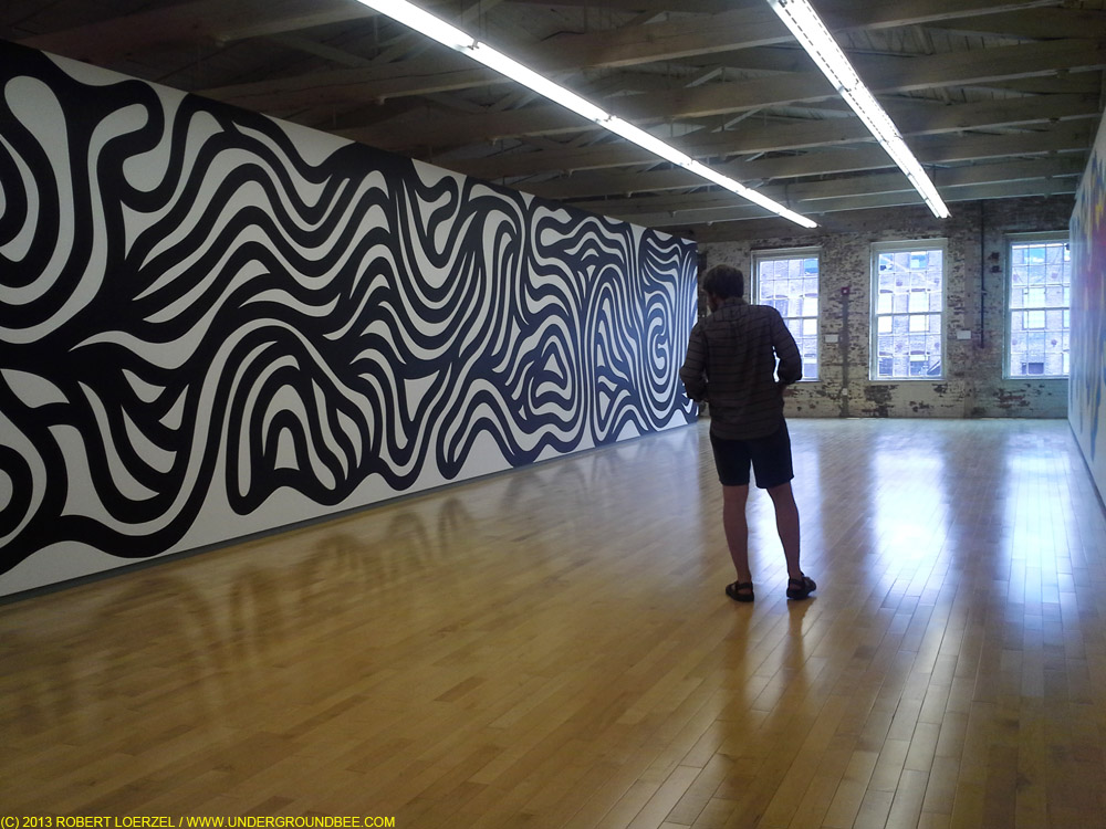 The Sol LeWitt exhibit at MASS MoCA