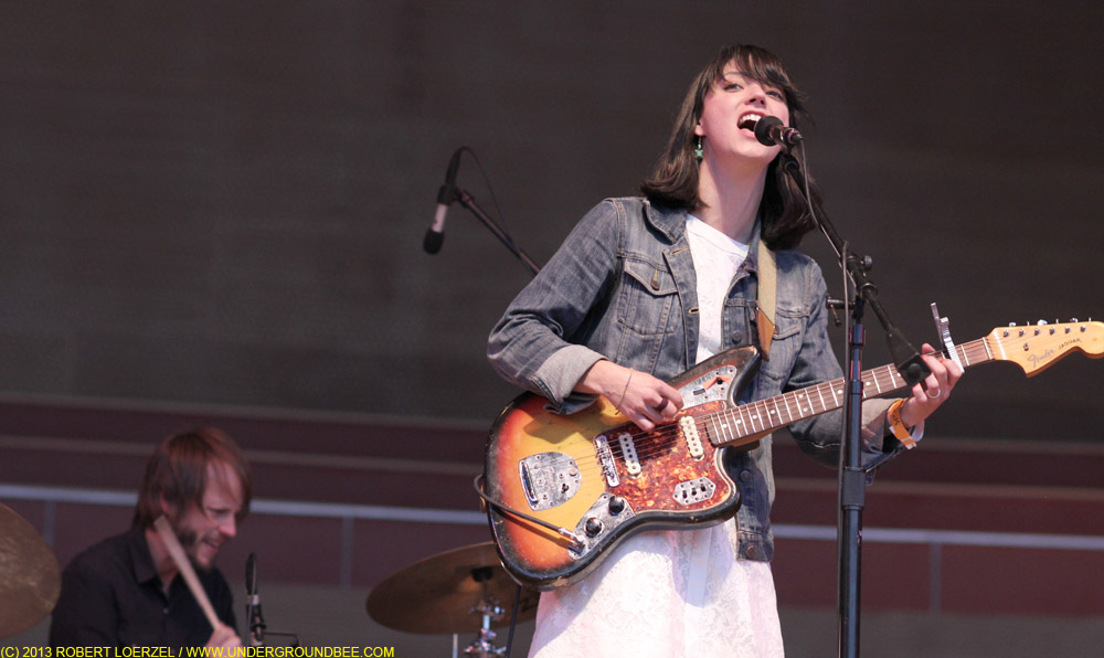 Sharon Van Etten at the Pritzker Pavilion