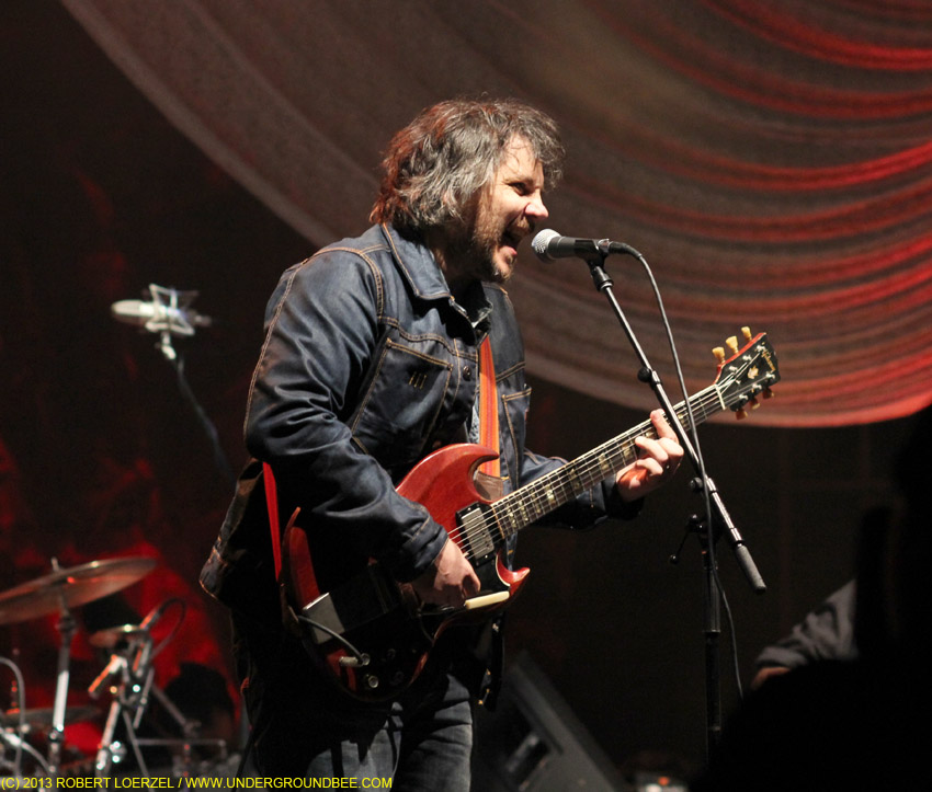 Jeff Tweedy, during the June 21 Wilco concert