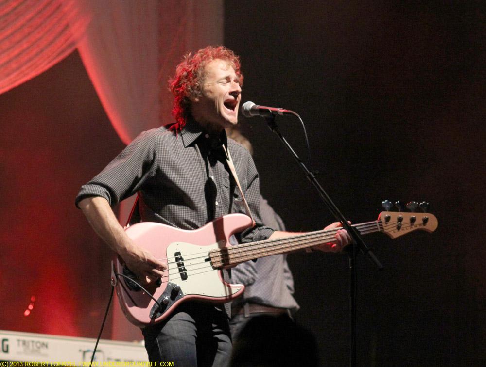 John Stirratt, during the June 21 Wilco concert