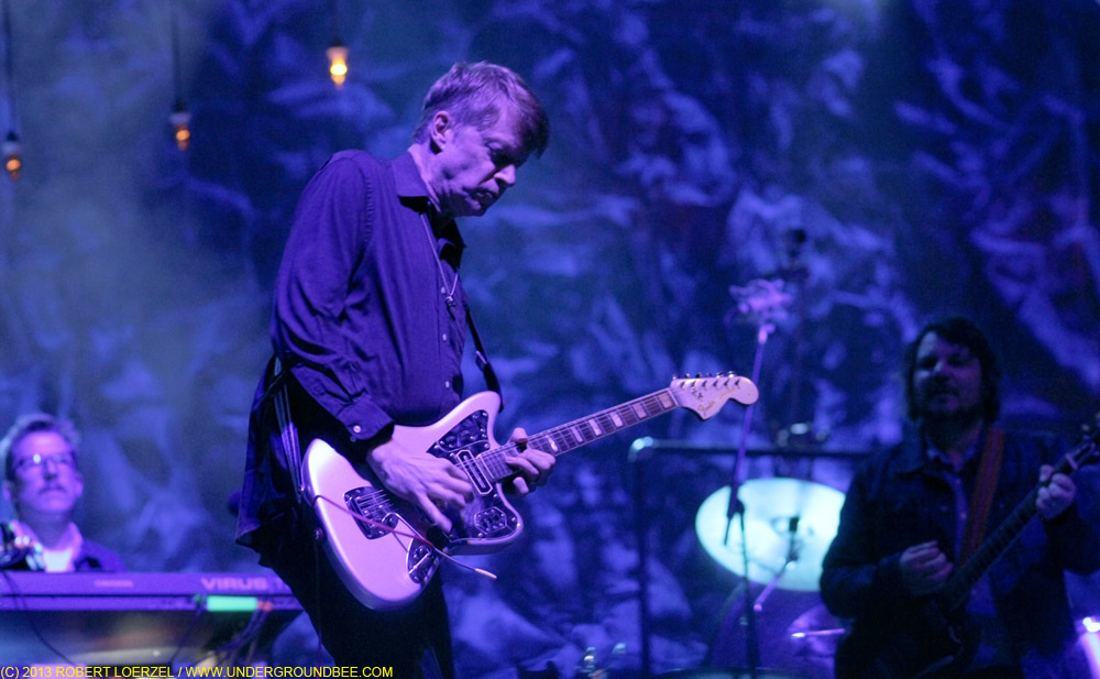 Nels Cline, during the June 21 Wilco concert