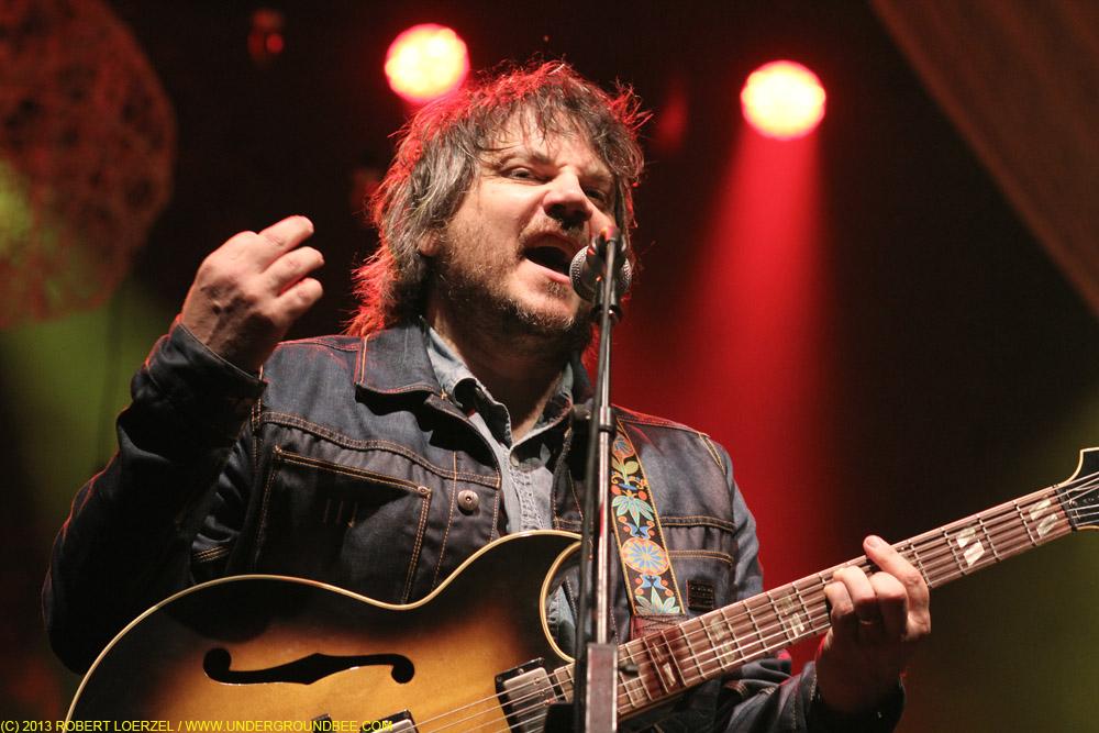 Jeff Tweedy, during Wilco's June 22 concert