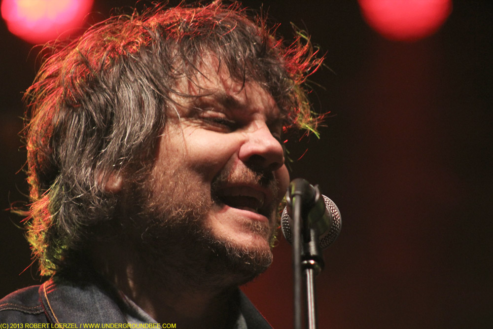 Jeff Tweedy, during Wilco's June 22 concert