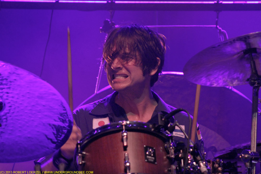 Glenn Kotche, during Wilco's June 22 concert