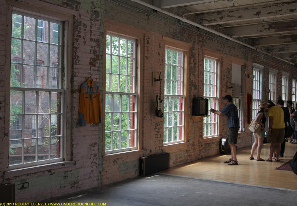 """Jeff Tweedy's Loft"" exhibit at MASS MoCA"
