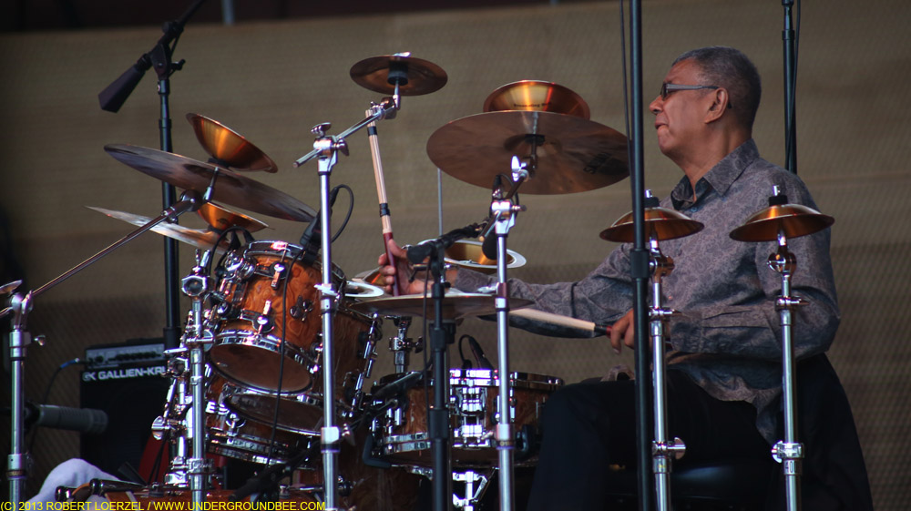 Jack DeJohnette at Chicago Jazz Fest