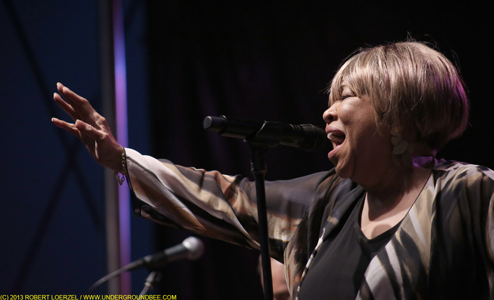 Mavis Staples at the Hideout Block Party/A.V. Fest