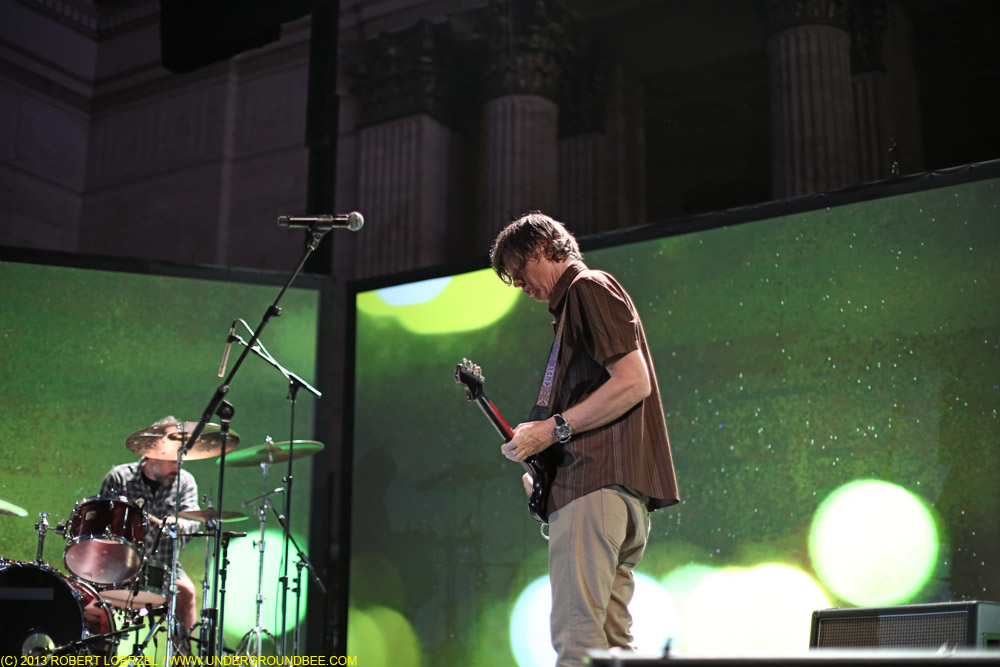 Thurston Moore and John Moloney