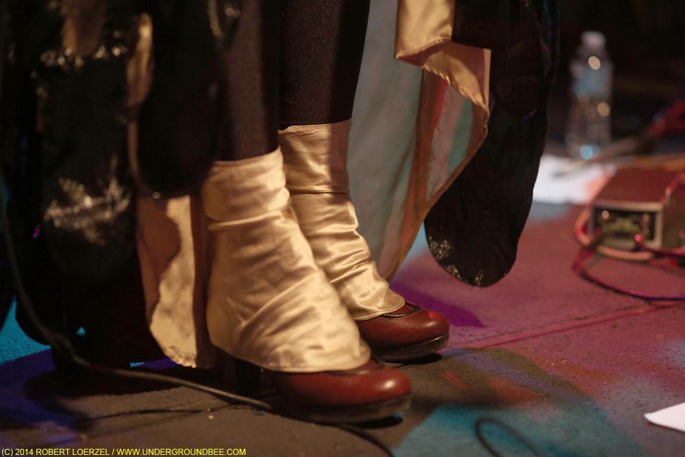 Ane Brun's footwear