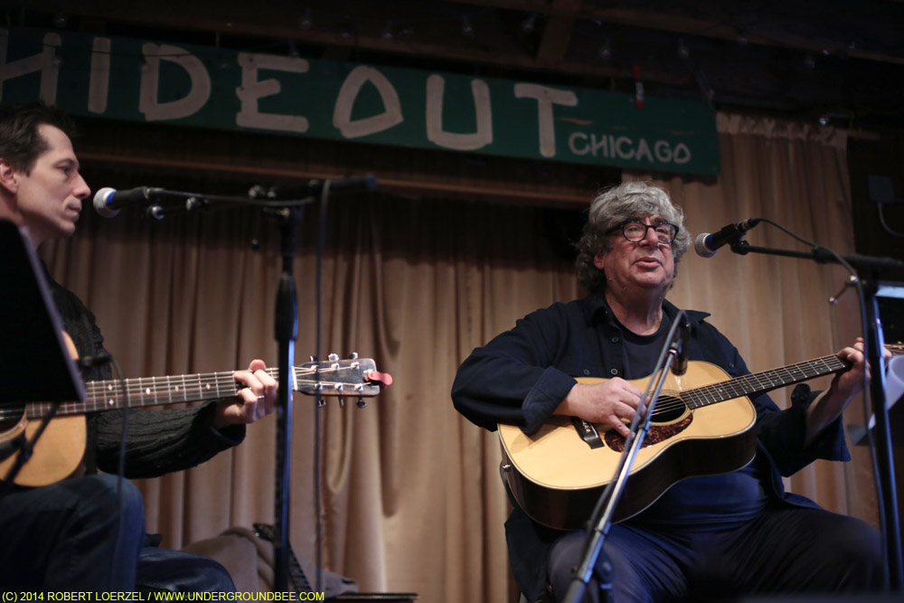 Ed Holstein and Steve Dawson at the Hideout