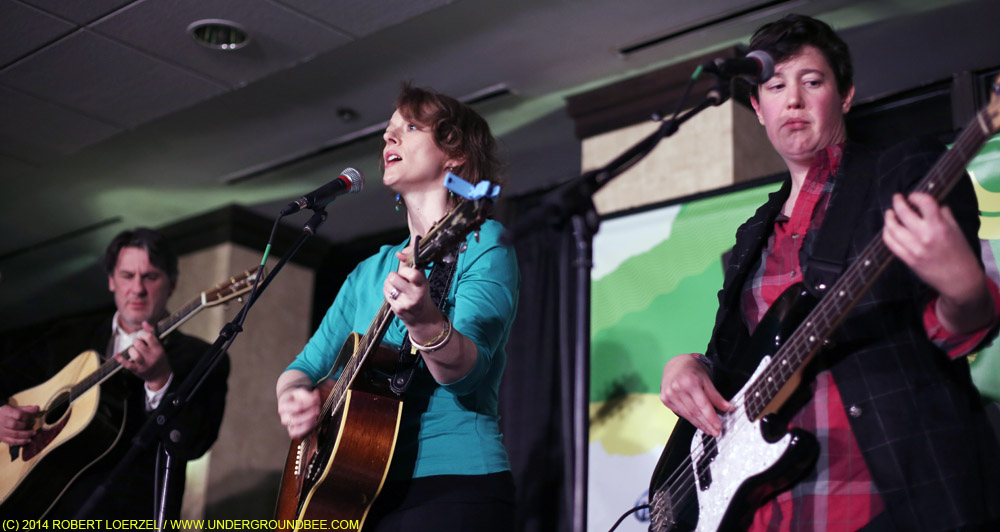 Laura Cantrell at the 18th Floor at the Hilton Garden Inn