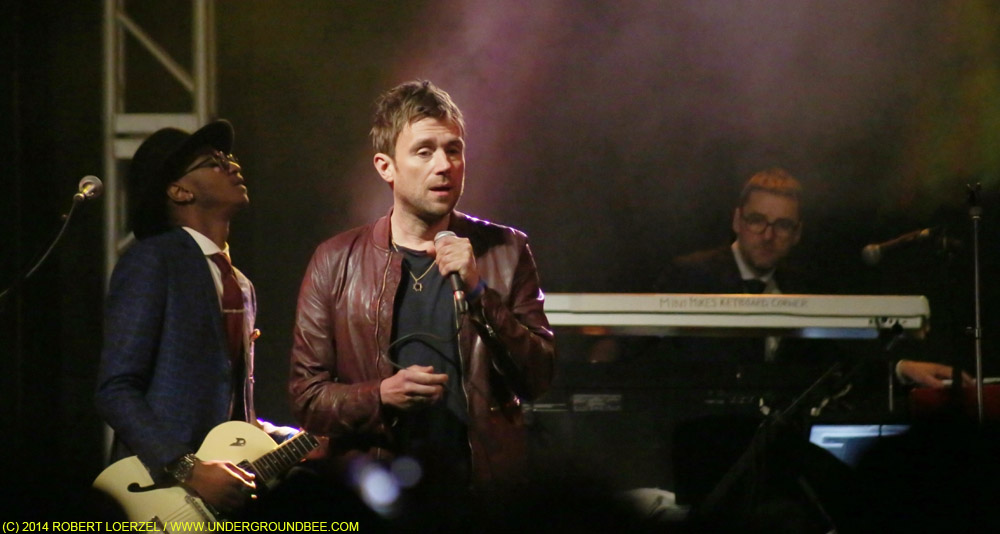 Damon Albarn at Stubb's