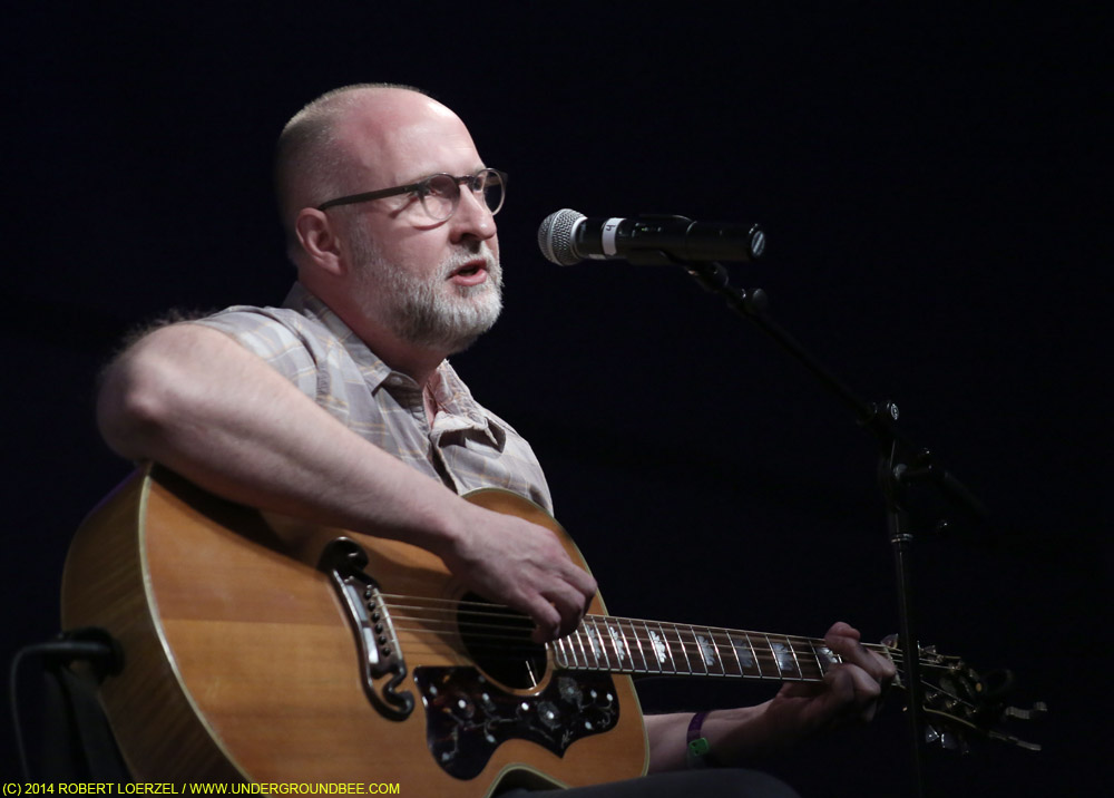 """Bob Mould at the """"Warehouse: Songs and Stories"""" songwriting panel"""