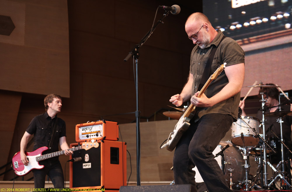Bob Mould at Millennium Park