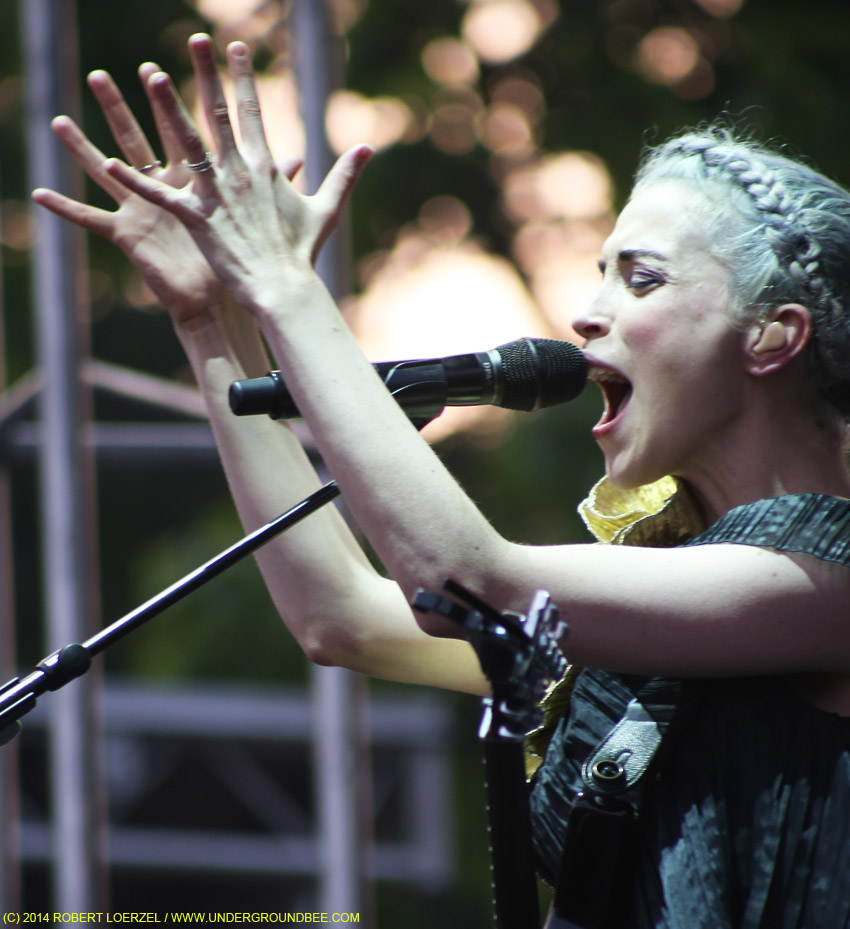 St. Vincent at Pitchfork