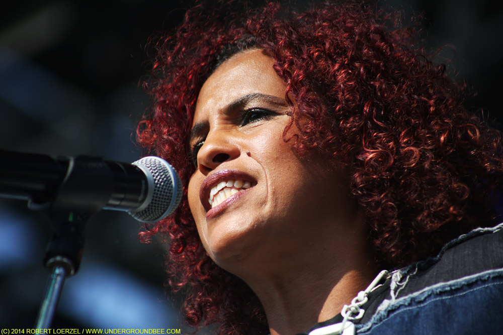 Neneh Cherry at the Pitchfork Music Festival