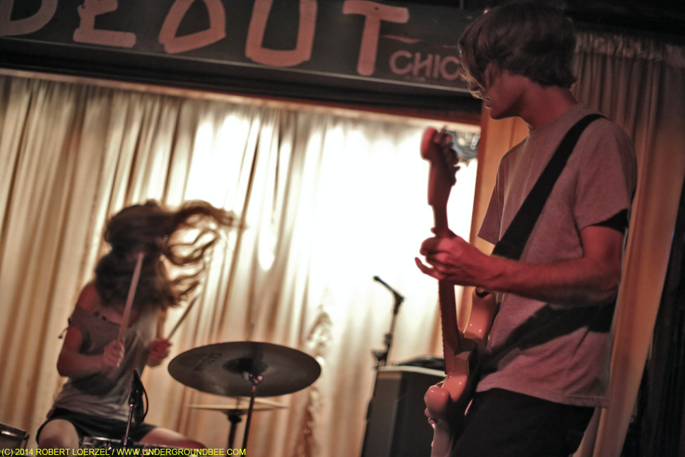 A night of international garage rock at the Hideout