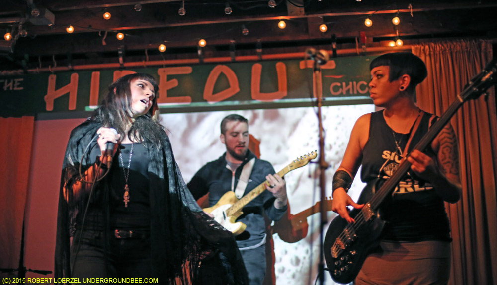 Ganser, Rasplyn, Matchess and Cinchel at the Hideout