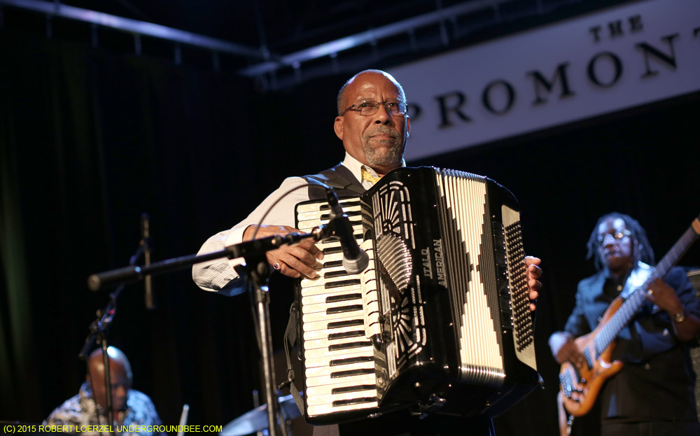 Hailu Mergia at the Promontory