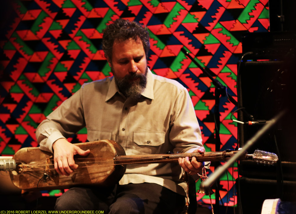 Joshua Abrams performs with Natural Information Society