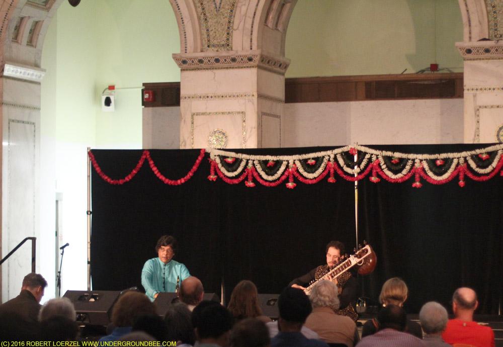 Ragamala begins at 6 p.m. with Josh Feinberg (sitar) with Anindo Chatterjee (tabla)