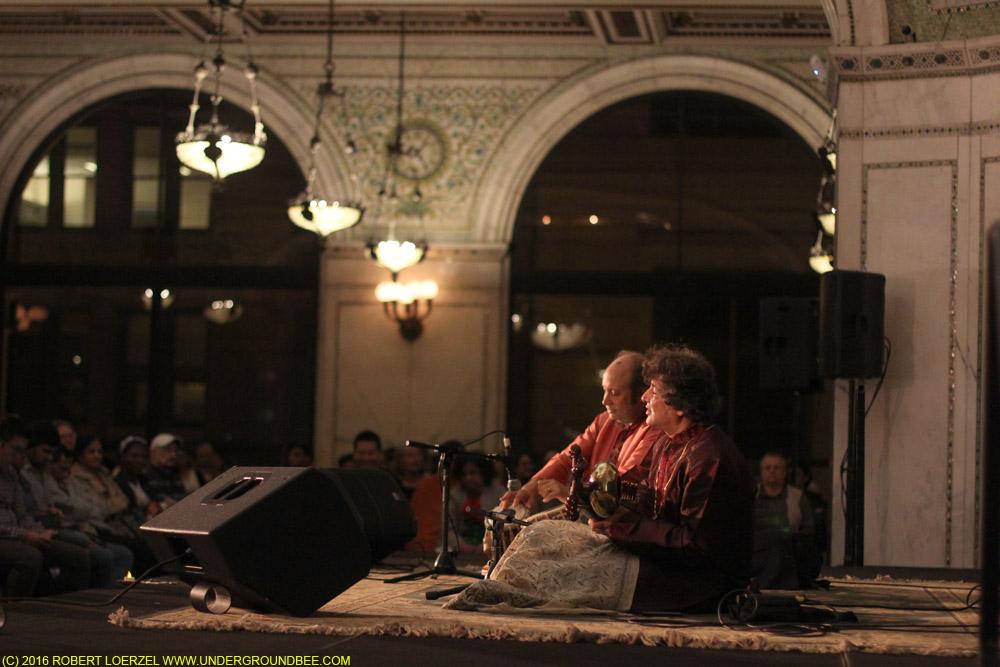 Partho Sarodi (sarod) with Abhijit Banerjee (tabla)