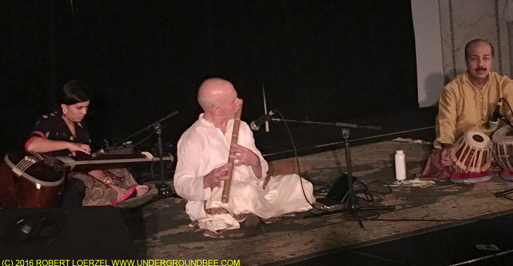 Lyon Leifer (bansuri) with Subhasis Mukherjee (tabla)
