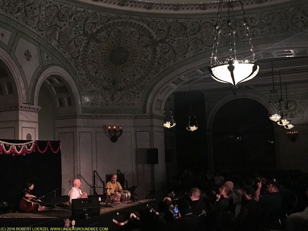 Lyon Leifer (bansuri) with Subhasis Mukherjee (tabla)