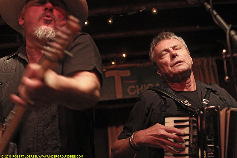 The Mekons at the Hideout