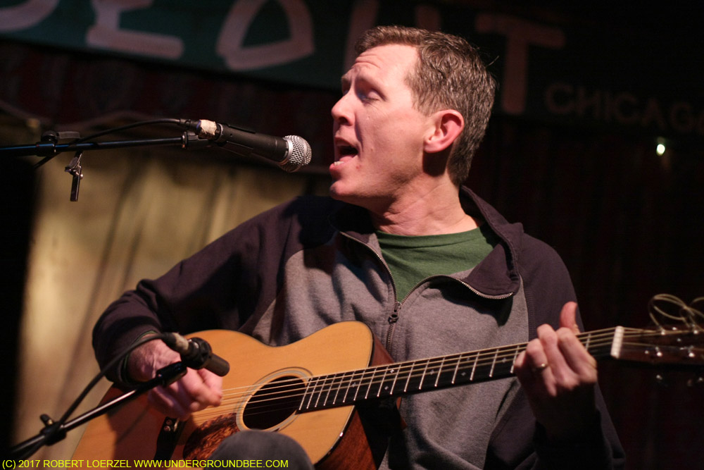 Robbie Fulks performs during the second show of his Hideout residency, on February 8, 2010.