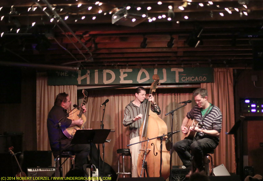 The Pussycat Trio — Robbie Gjersoe, Bo Sample and Robbie Fulks — on February 24, 2014